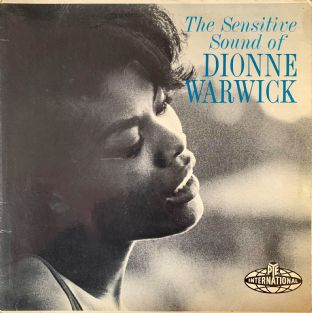 Dionne Warwick ‎- The Sensitive Sound Of Dionne Warwick (LP) (VG-/G++)